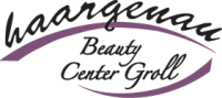 Logo haargenau Beauty Center Groll